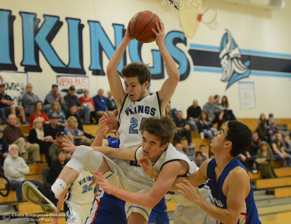 . Pleasant Valley plays Tamalpais in the annual McDonald\'s Winter Classic Saturday December 9, 2017 at Pleasant Valley in Chico, California. (Emily Bertolino -- Enterprise-Record)