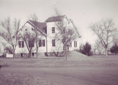 New Pleasant View Church. Photo taken in 1951 by Alice Flory.