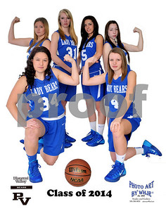 PVHS GIRLS BASKETBALL 2014