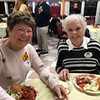 Volunteers Yvette Hunt and Fran Murphy, both of Chelmsford