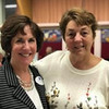 Team leader Sue Meenaghan and board member Kathy Clark, both of Chelmsford
