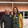 Board member Jerry Serra of Methuen and Chelmsford Senior Center Director Deb Siriani