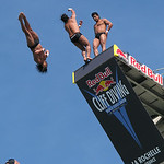 World Championship CLIFF DIVING  2010    -  La Rochelle  -  France