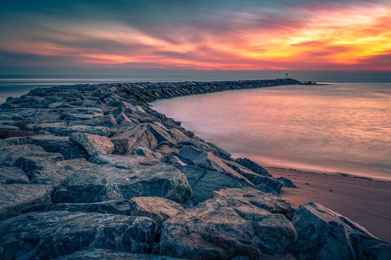 Plum Island Jetty Sunrise