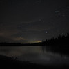 Antelope Lake on a moonless night.  Near Taylorsville, CA.