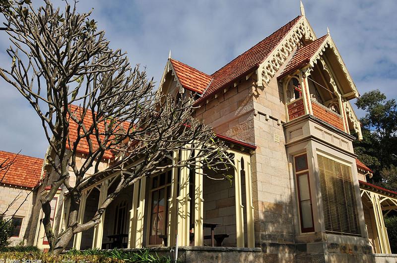 Greycliffe House, Nielsen Park, Sydney, Australia.