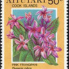 Plumeria rubra<br /> 1994 Cook Islands
