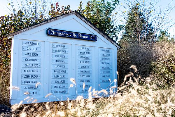 Plumsteadville Veterans Day 2017