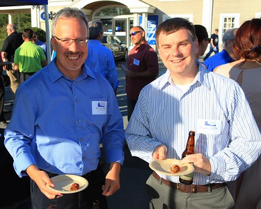 Faces Seen On Scene at the Plymouth Area Chamber of Commerce Business After Hours hosted by Eastern Bank. Wicked Local Photo/Denise Maccaferri