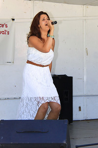 Stacey Lavalley of Carver sings in the first round of the 2013 Plymouth Idol Competion.
