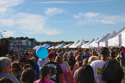 Thousands of people descended on Water Street to enjoy over 220 crafter booths, food vendors,  America's Hometown Sing Off  competition,  the Ducky Dash and more at the Plymouth Chamber of Commerce 2013 Downtown Plymouth Waterfront Festival held on Saturday August 24.