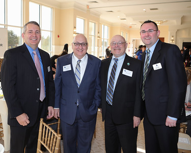 "PACC Executive Director Kevin O""Reilly, Boston Herald  Editor-in-Chief Joe Sciacca Massasoit Community College Director of College Advancement  Steven Murphy, PACC Director of Communications and Events Bob Nolet Wicked Local Photo/Denise Maccaferri"