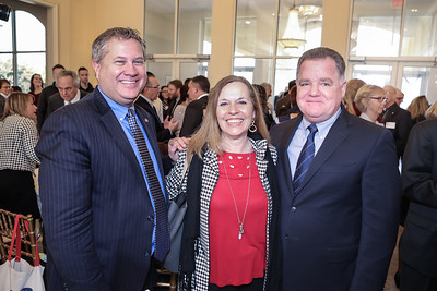State Rep Matt Muratore, Plymouth 400 Executive Director Michele Pecararo, State Rep Tom Calter.  Wicked Local Photo/Denise Maccaferri