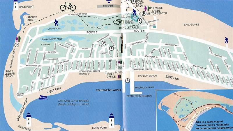 Map of Provincetown