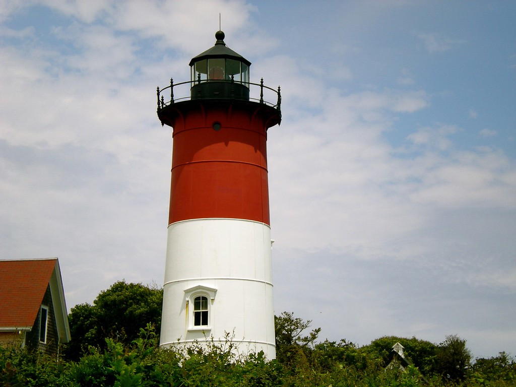 Light House at Nauset, Light Beach National Park, MA