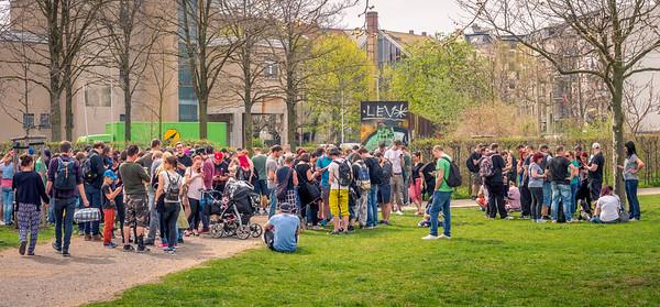 Community Day Grillen April 2018