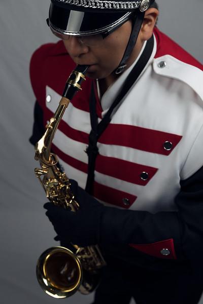 Portage High School Band Senior Photos