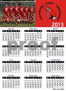 One-page Year Calendar1