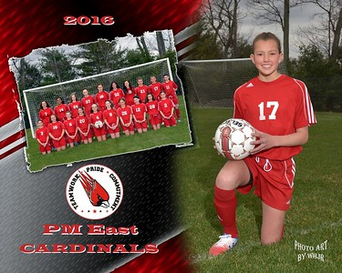 2015-2016 Middle School Girls Soccer