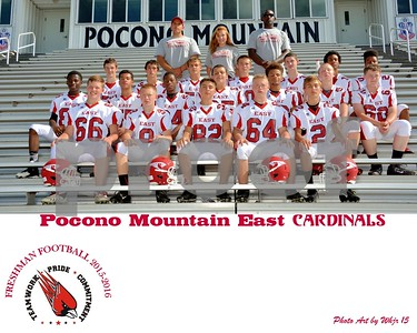 2015-2016  PM East Freshman Football