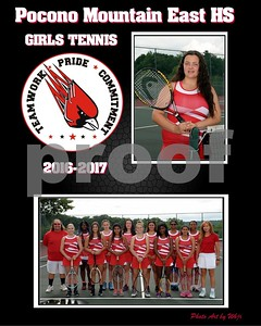 2016-2017 Girls Tennis
