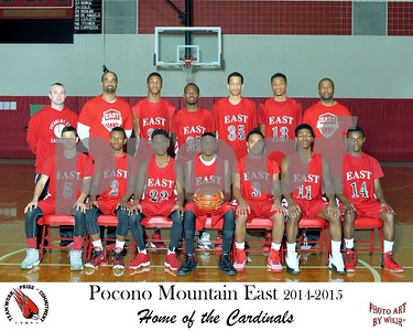 Boys Basketball 2014-2015
