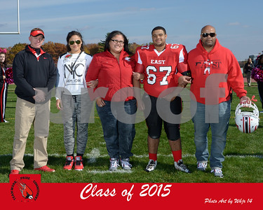 Fall  Senior Day 2014