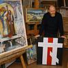 EU 279 - Belarus, Painter Waleri Schtshasny
