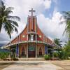AS 820 - Vietnam, Parish church in Tam Ngan