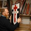 EU 280 - Belarus, Painter Waleri Schtshasny