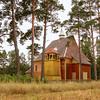 EU 290 - Belarus, Catholic church in Nowa Ruda village