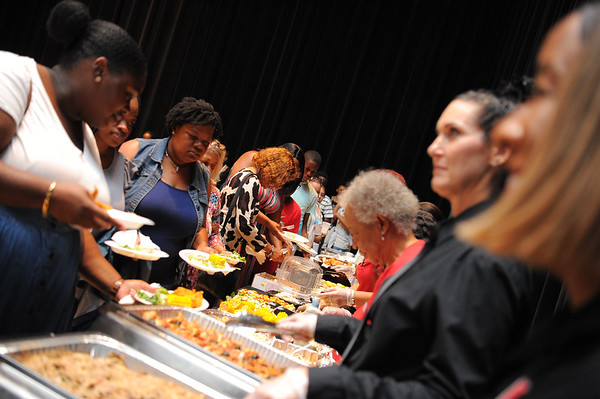 Poetry Potluck Show Dinner at Arsht
