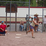 Poetry 2001 - Poet Softball<br /> Photo by Tracy Hall