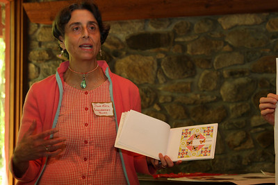 Diane Katz, book designer for Ronseberry Books, describes how Rebecca's poems inspired the quilting motifs that she used throughout the book.