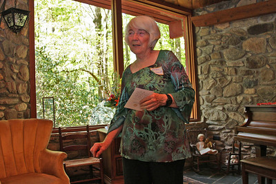 Jean welcomes us into her home for the 30th annual Haiku Holiday.