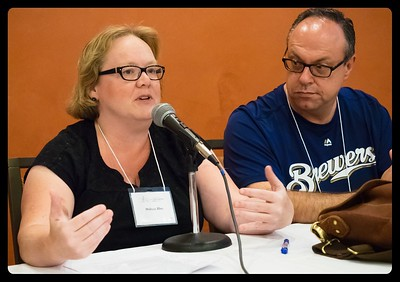 Melissa Allen and Dan Schwerin