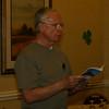 Peter reads his haiku.
