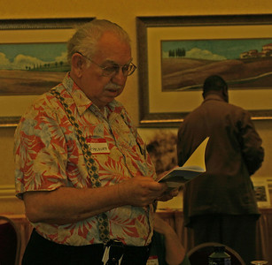 Jim Applegate, editor of the small canyons anthologies, reads his haiku.