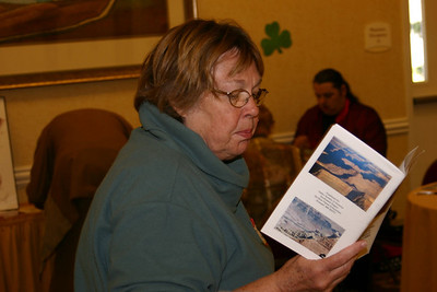 Beth Ann Applegate reads her haiku from small canyons 2.