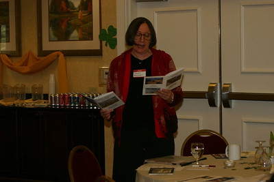 Susan reads from small canyons 1 & 2.