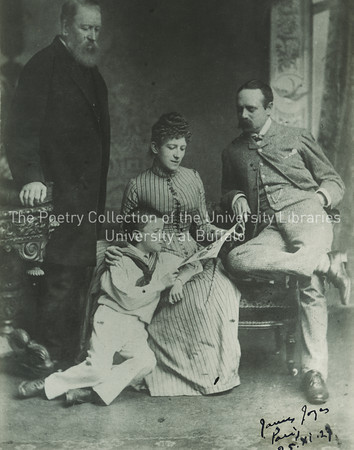 James Joyce with his mother, father, and maternal grandfather at age 6