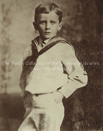 James Joyce in sailor suit, age 6