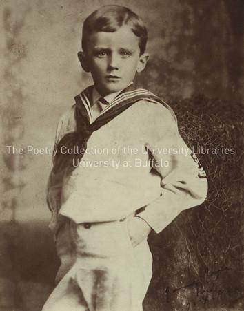 James Joyce in sailor suit, age 6