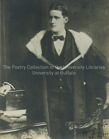 James Joyce's graduation from Royal University (later University College Dublin)