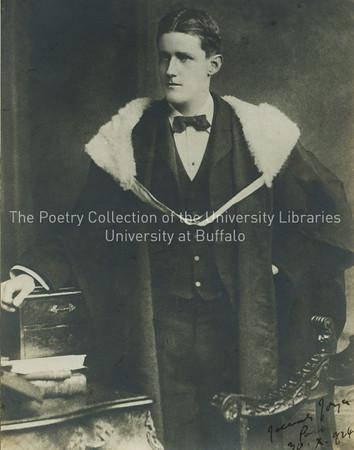 James Joyce's graduation from Royal University (later University College Dublin)