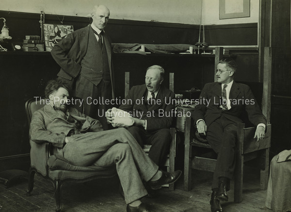 James Joyce with Ezra Pound, John Quinn, and Ford Maddox Ford