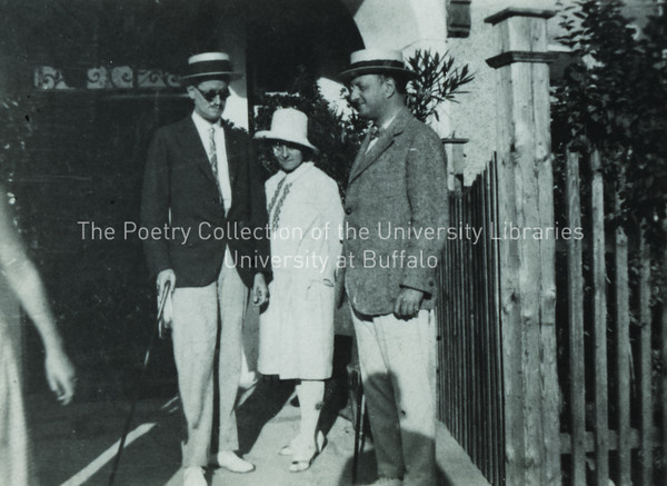 James Joyce with Stuart and Moune Gilbert, Zurich