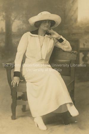 Seated woman, possibly Helen Fleischman Joyce