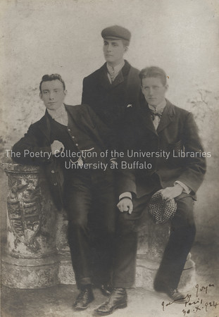 James Joyce and school friends George Clancy, and J. F. Byrne