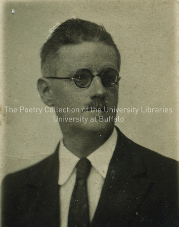 James Joyce passport photograph